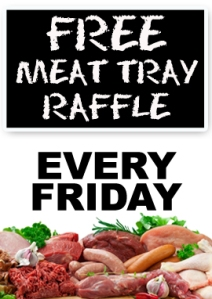 Meat Tray Raffle