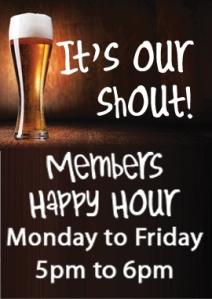 Members Happy Hour